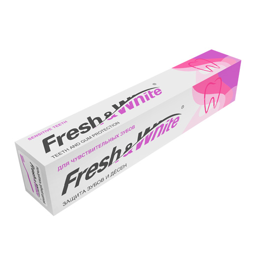 Зубная паста Fresh&White для чувствительных зубов